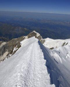 Muchia Les Bosses - The Bosses Ridge